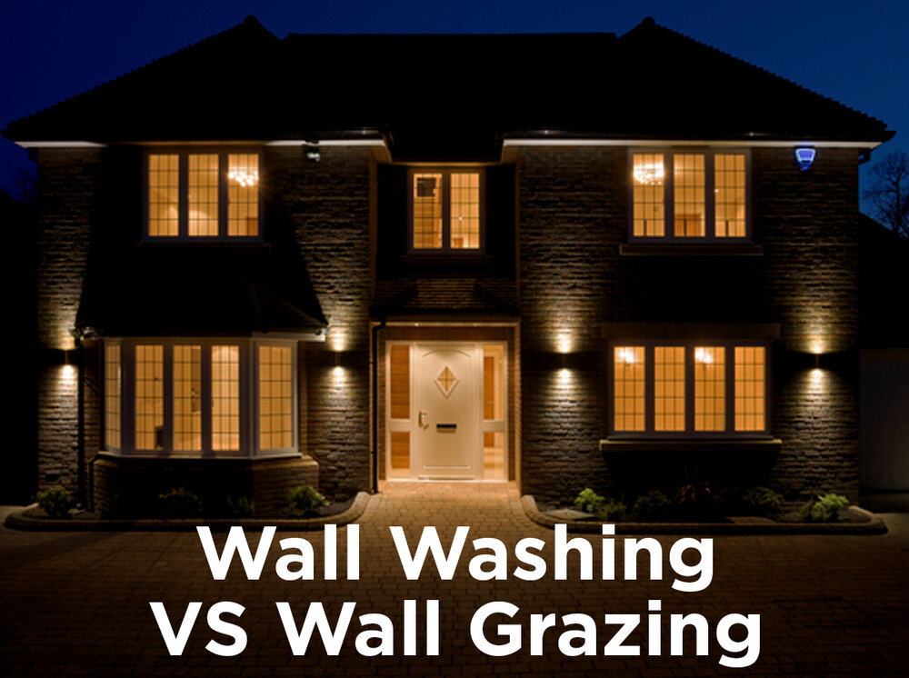 Accent Lighting Wall Washing Vs Wall Grazing 1000bulbs