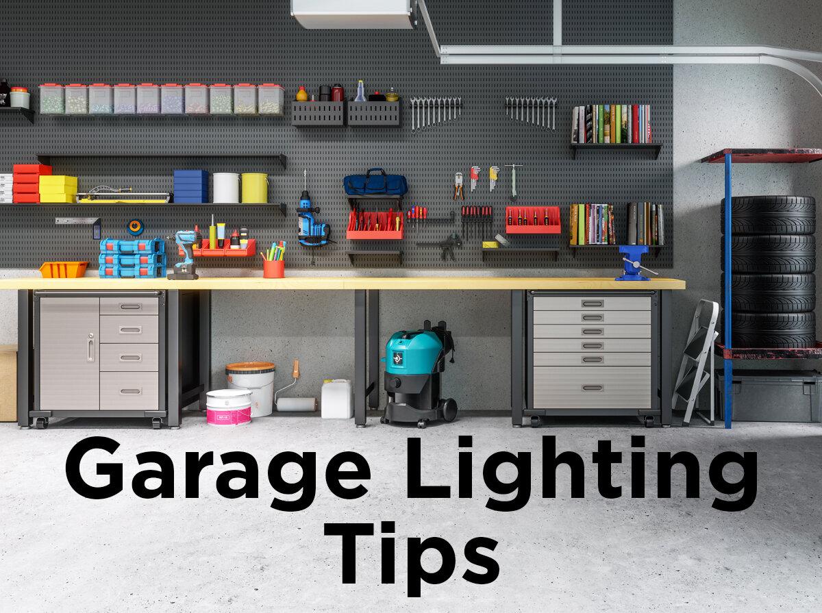 Garage Lighting Tips — 1000Bulbs.com Blog