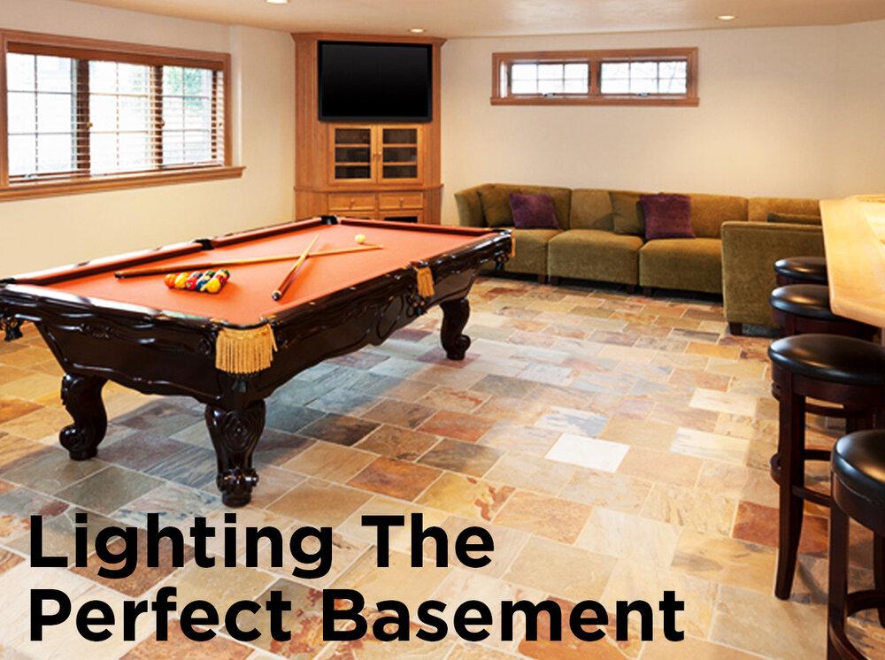 Basement Lighting Fixtures: Lighting The Perfect Basement
