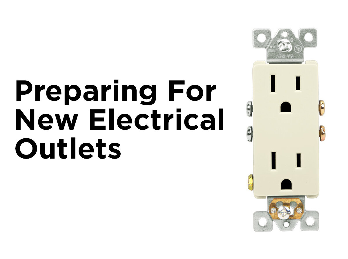 Preparing For New Electrical Outlets 1000bulbscom Blog Wiring Up