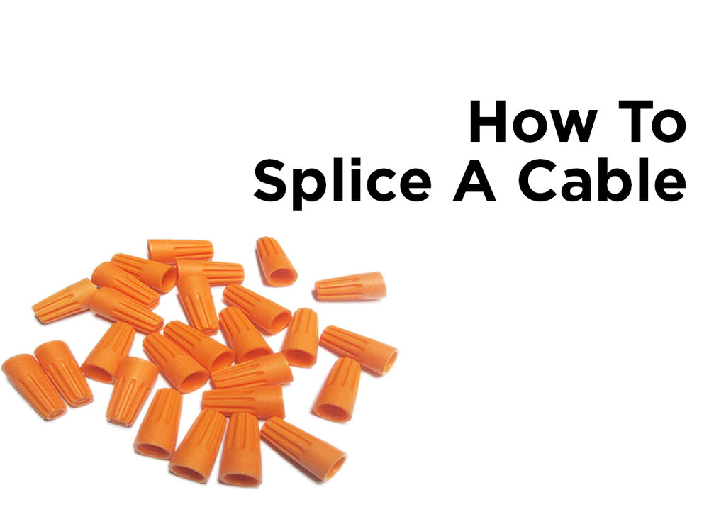 How to Splice a Cable — 1000Bulbs.com Blog