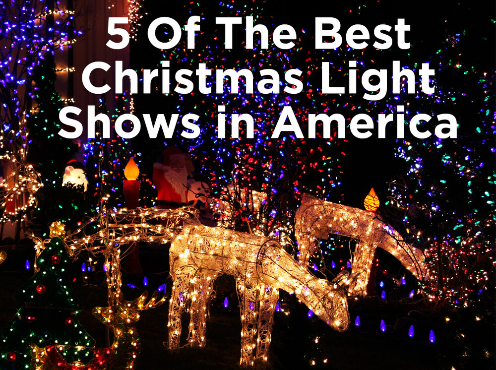 5 of the best christmas light shows in america 1000bulbscom blog