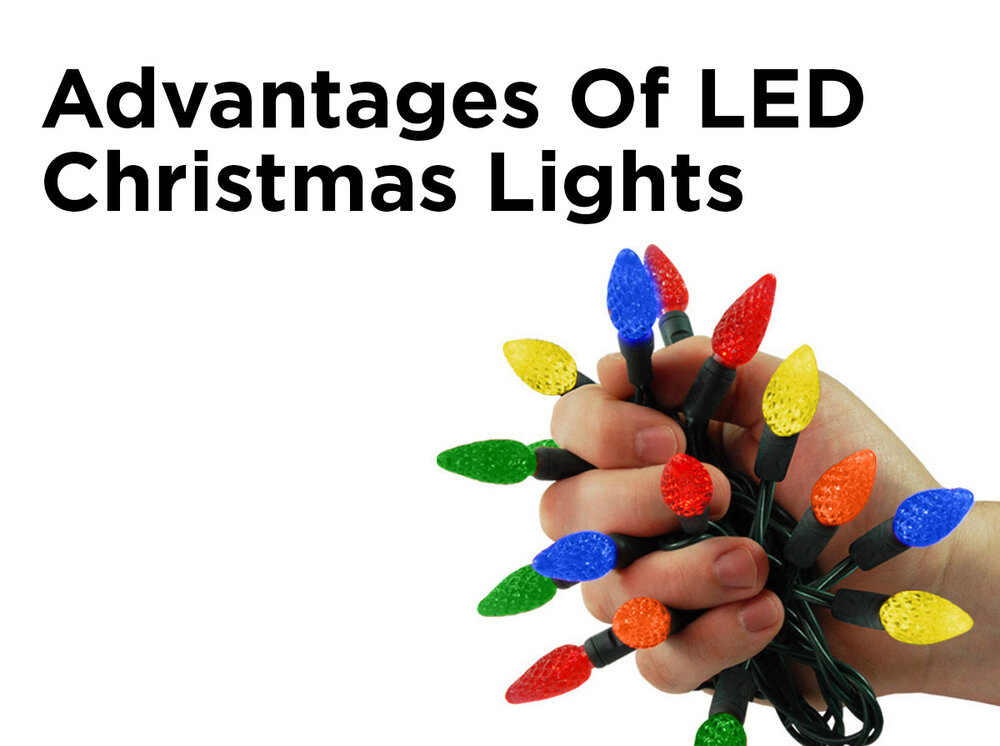 advantages of led christmas lights