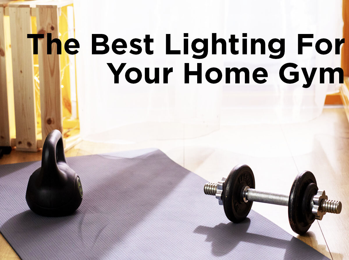 The best lighting for your home gym u2014 1000bulbs.com blog