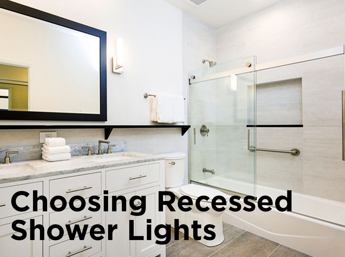 Charmant Choosing Recessed Shower Lights