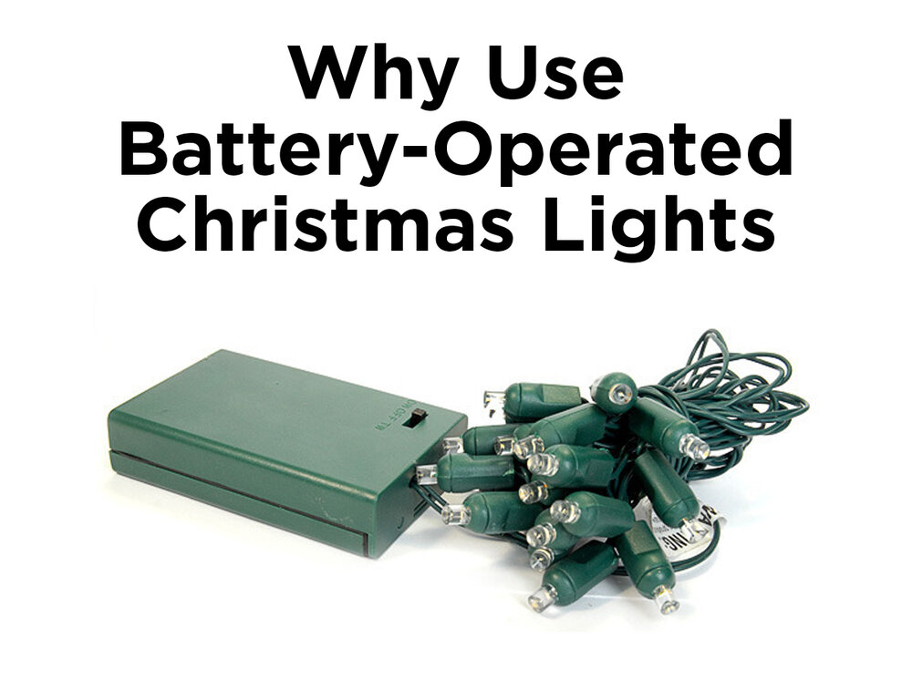 Battery Powered Outlet For Christmas Lights