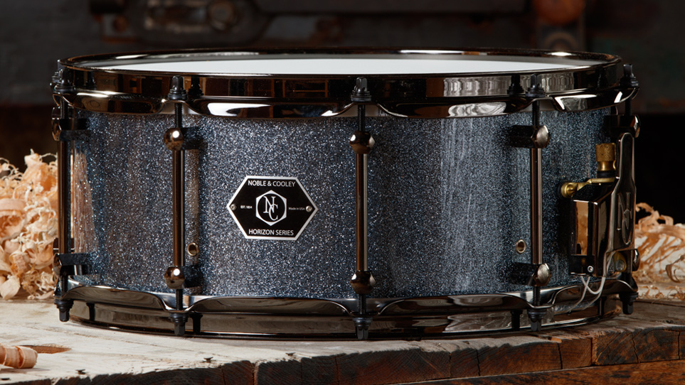 Horizon 6 x 14 Hematite With Black Chrome Hardware