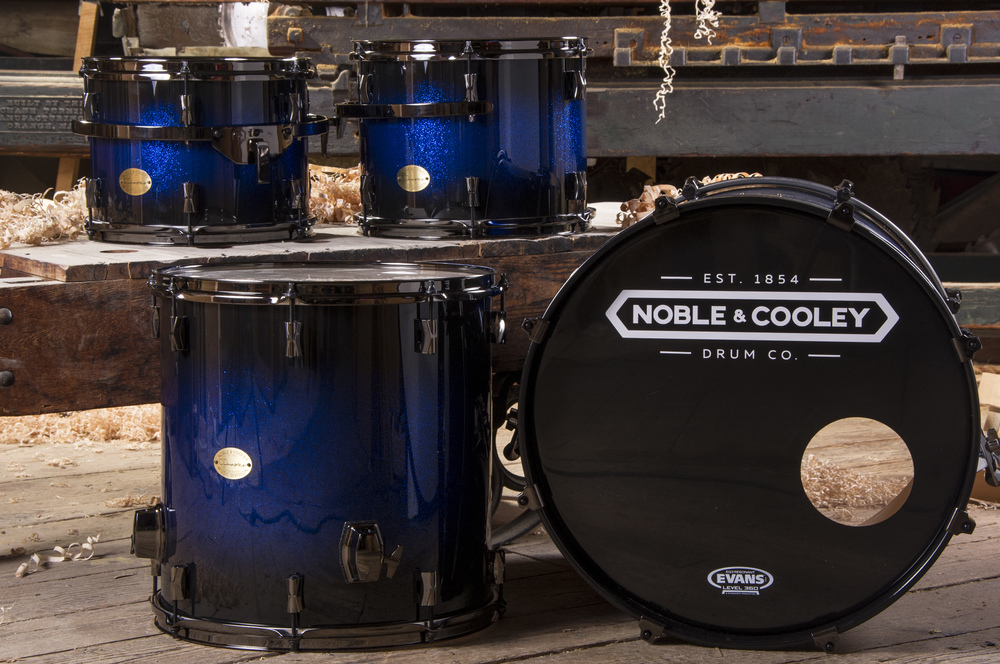 CD Maple Blue Black Sparkle Fade