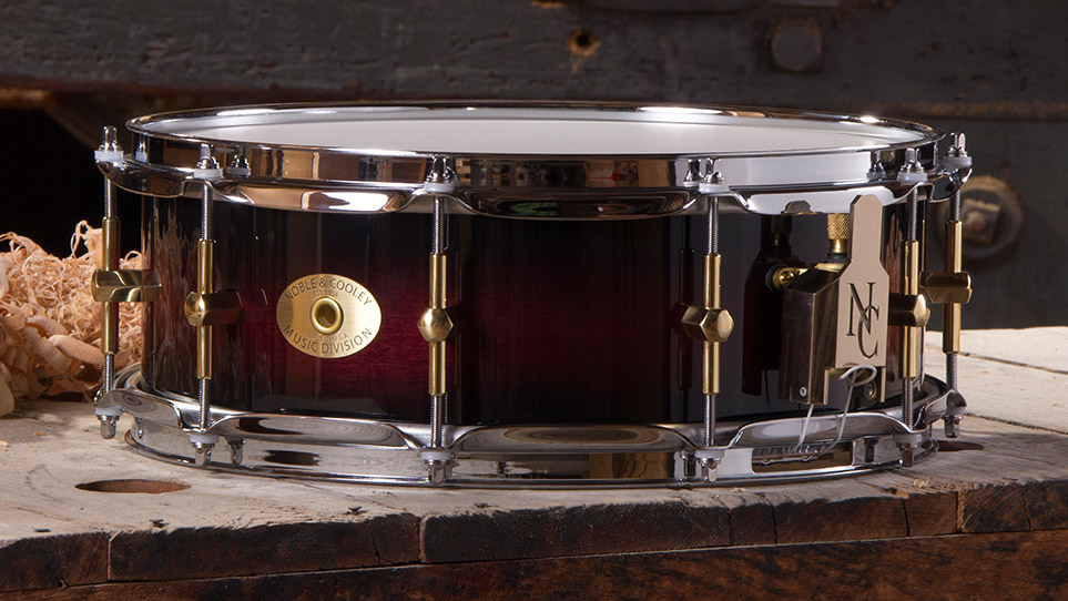 5 x 14 Maple Cherry Black Burst Gloss
