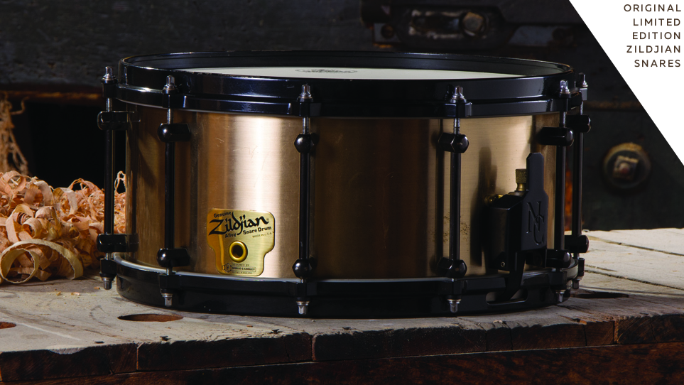 Copy of Zildjian Snare Used By Denny Carmassi With Heart And Whitesnake
