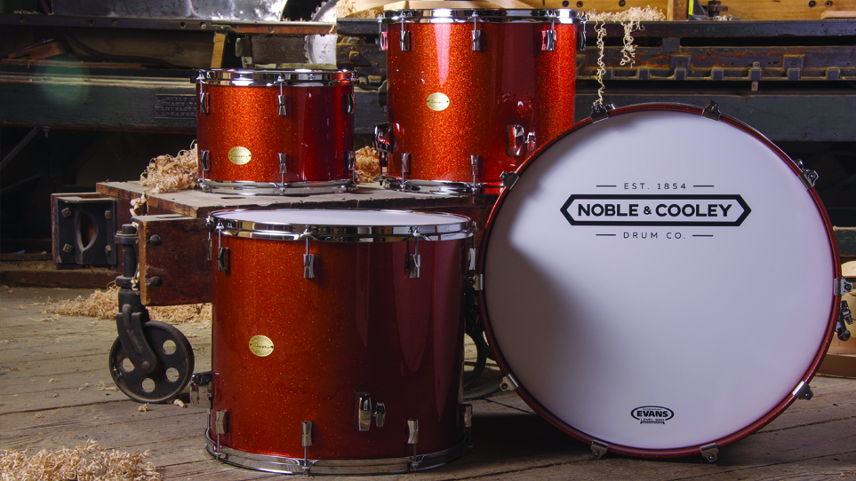 CD Maple Vintage Tangerine Sparkle