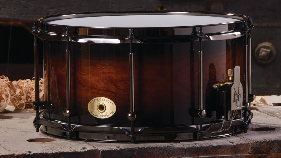 7 x 14 Cherry Honey Burst With Black Hardware