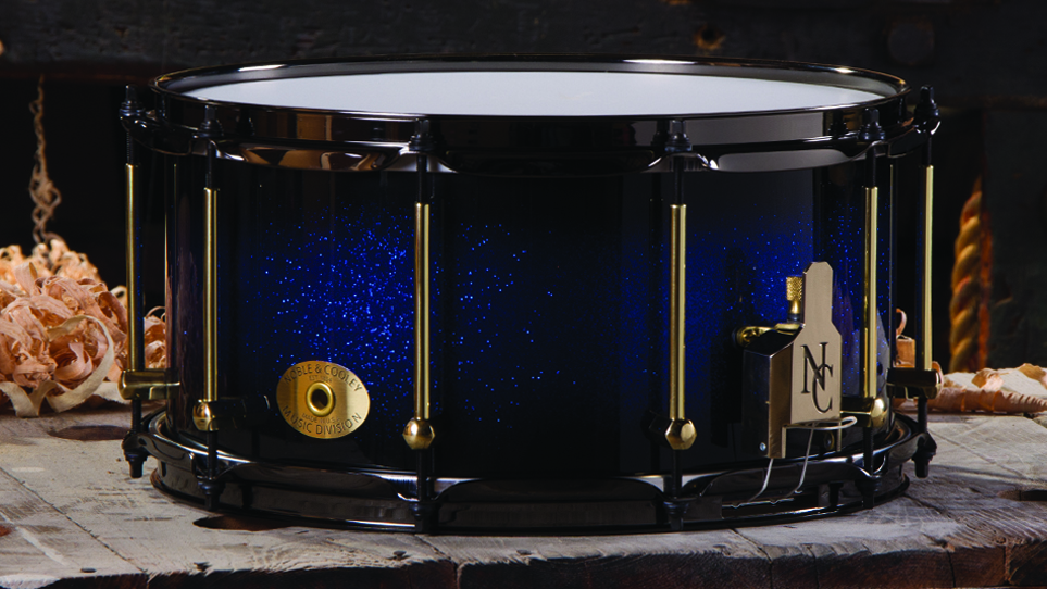 7 x 14 Beech Blue Sparkle Burst