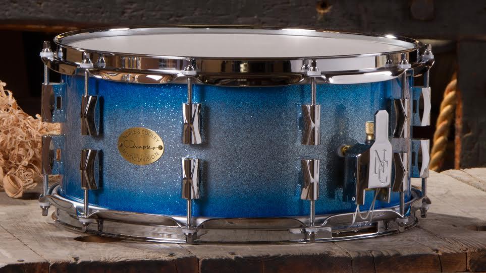 CD Maple 6.5 x 14 Blue Burst Sparkle