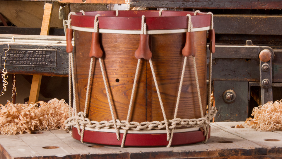 Fully Restored Noble & Cooley Marching Drum