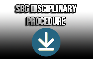disciplinary procedure