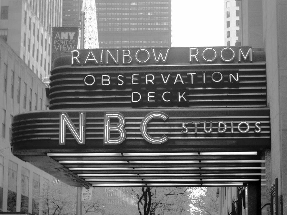 NBC's Famous Rainbow Room