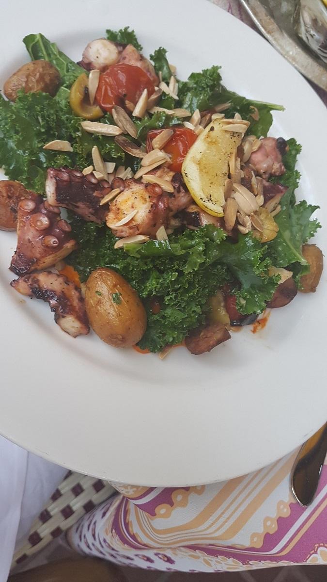 Delicious Calamari Salad