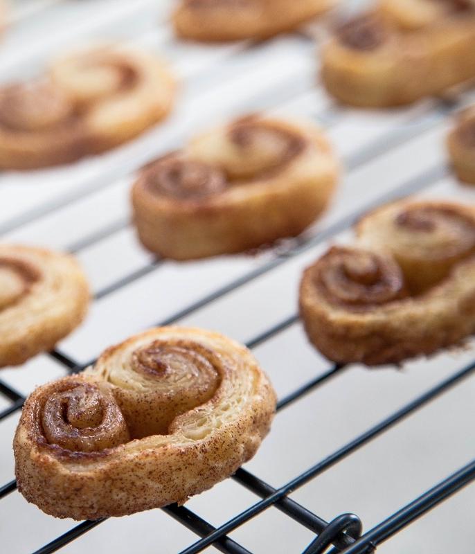 Sweet Cinnamon Palmier Cookies