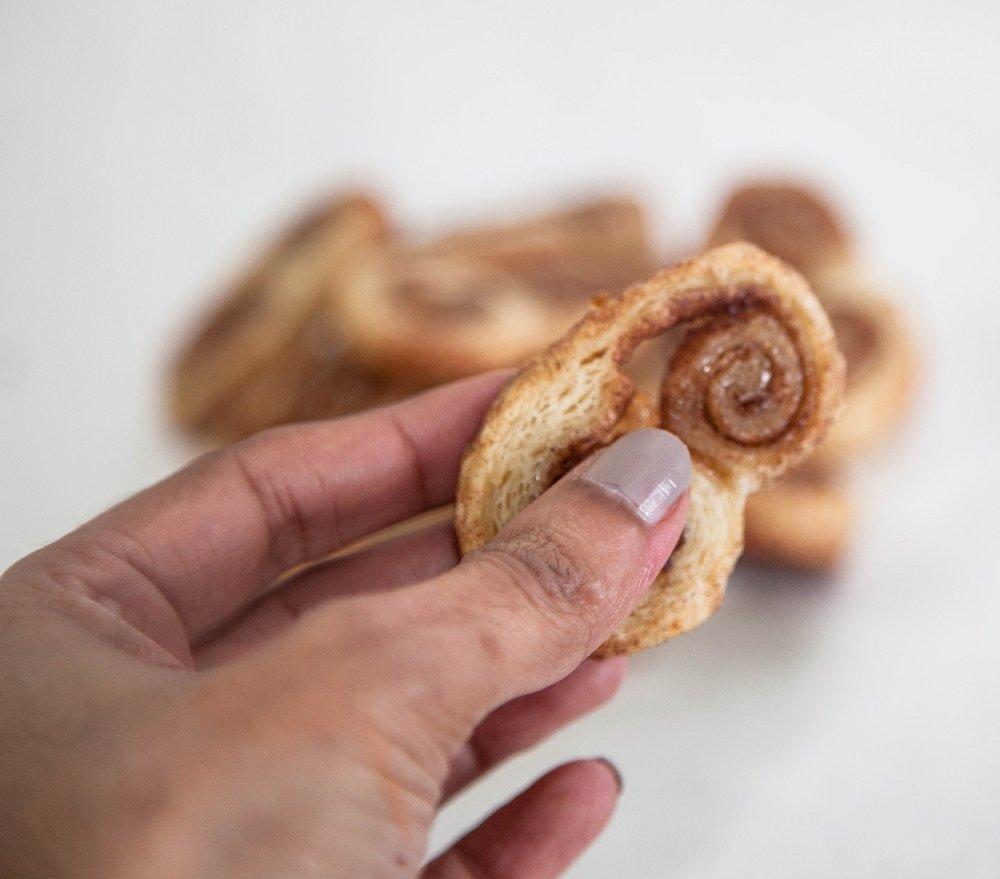delicious cinnamon cookies