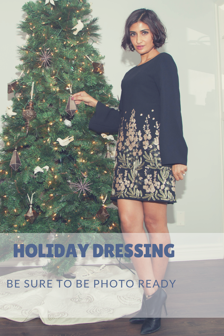 Holiday dressing - be sure to be photo ready!