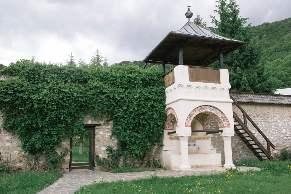 Orthodox Monastery in Oltenia