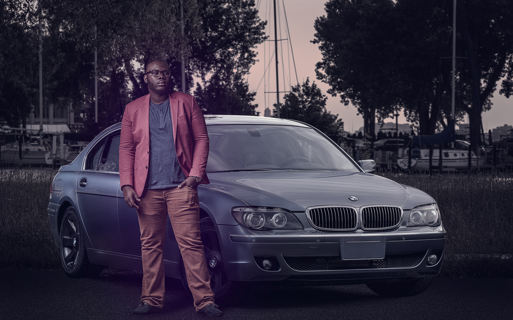 Prosper & the Beemer Automotive Portrait