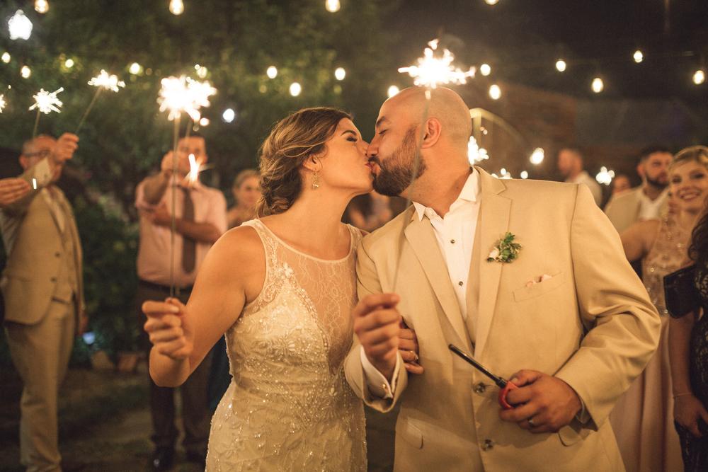 Wedding Editorial Sparklers