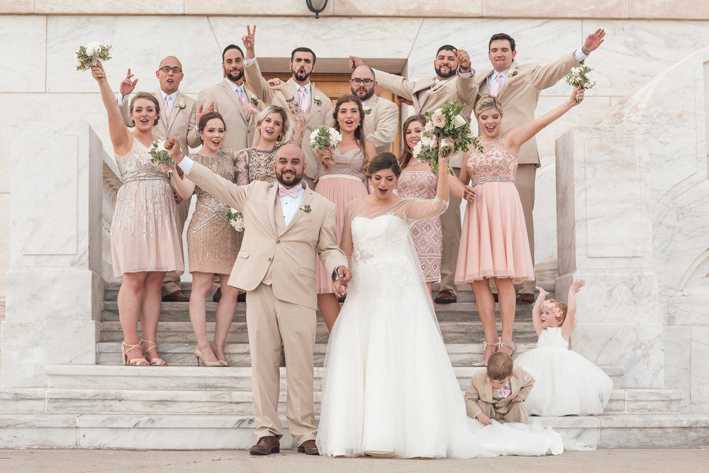 Wedding Editorial Group Shot