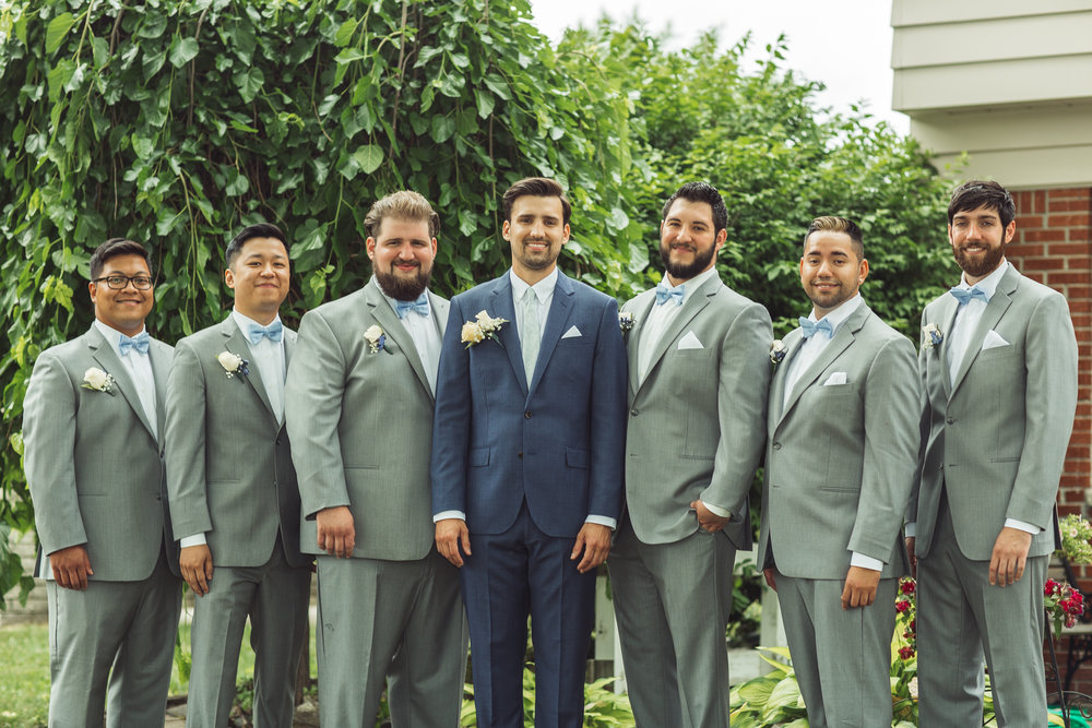 Groom's Men, wedding editorial
