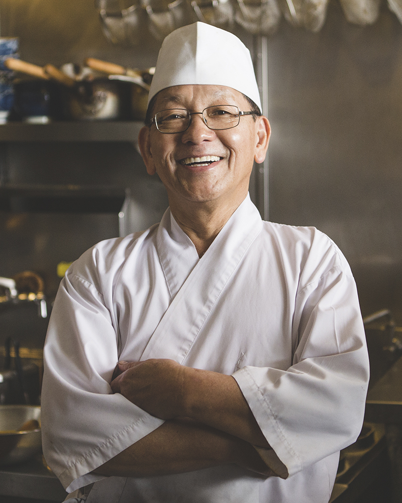 "Yabu Founder and Chef, Kiyotaka ""Okyo"" Ikuno"