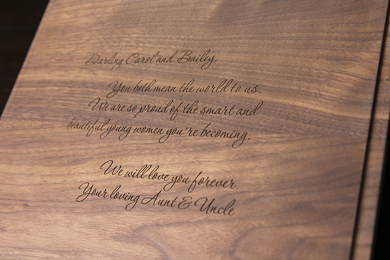 This stunning Walnut Box holds a minimum of 10 mounted portraits.A family heirloom indeed!