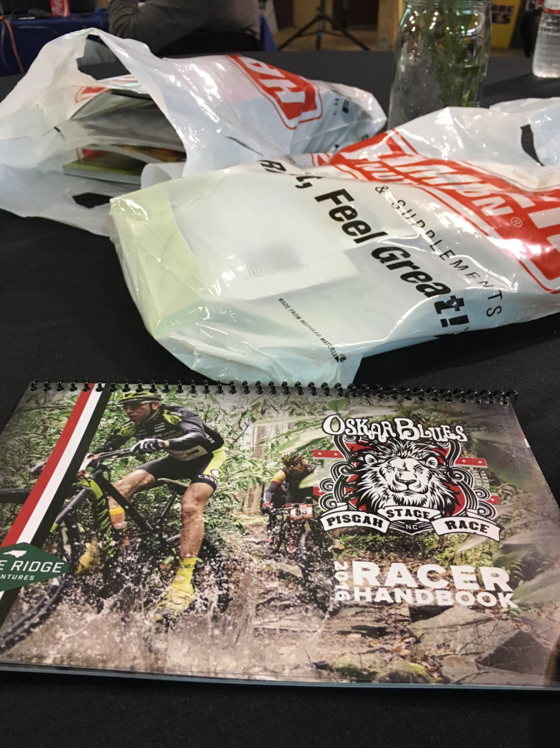 Generous swag bags, racer handbook, nightly dinners, really well marked courses, race jersey, and finishers t-shirt are just a handful of things you get with your race entry.
