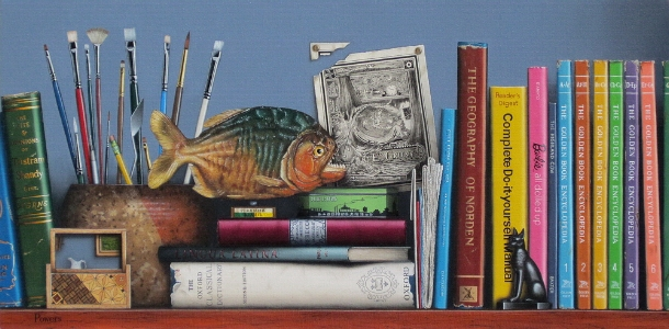 Still Life with a Piranha 28x14.jpg