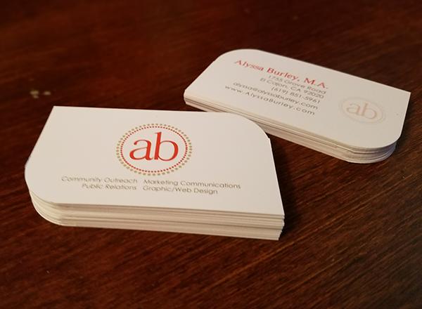 Alyssa Burley Business Cards