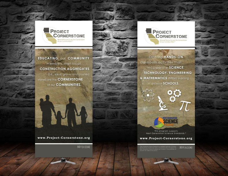 Project Cornerstone Vertical Banners