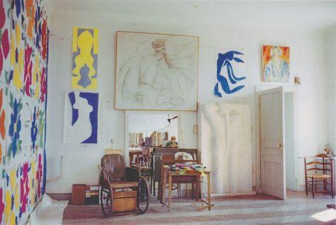 Henri Matisse's studio, Hotel Regina, Nice, ca. 1952.jpg