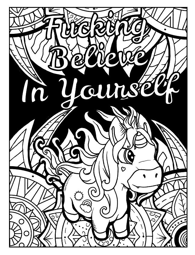 Fuckin Believe In Yourself