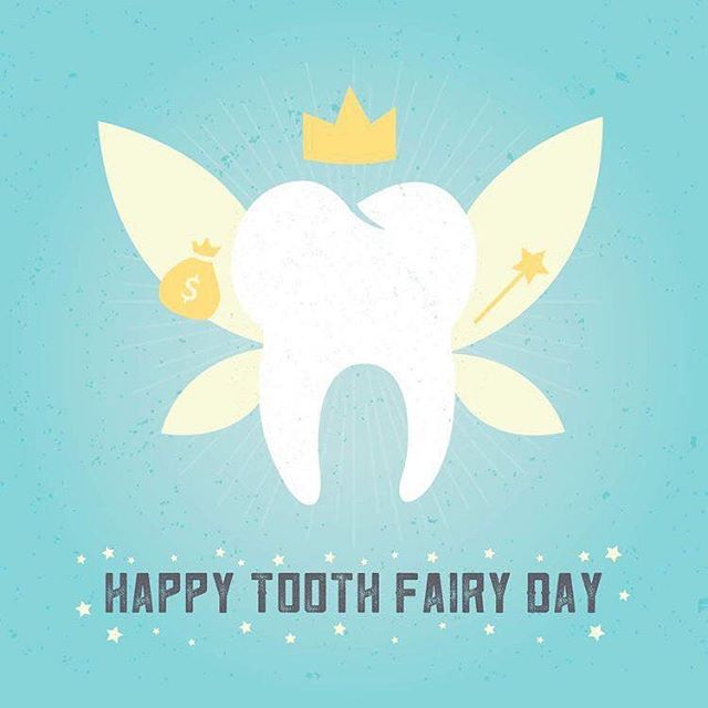 Happy National Tooth Fairy Day! How much does a baby tooth go for these days?  #toothfairyday #dental #chittenango #dentist