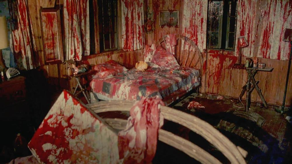 "The set designer admitted to getting ""a little carried away"" when prepping this scene."