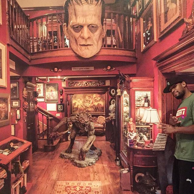 Shoutout to @archerone 4 the invite! The Crib of #DelToro is nothing short of #Legendary 🔥🔥🔥Its Always a #Dope time in #LosAngeles #NewVideo Link in Bio👆🏼👆🏽👆🏻👆🏿We #OnAMission to own cribs like this! Have a #Blessed week! #ItsTheVets But u already snow dat! 📸by @tj_collier