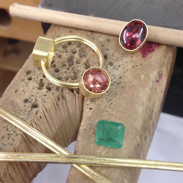 Handmade Jewelry by Monica Marcella Brooklyn