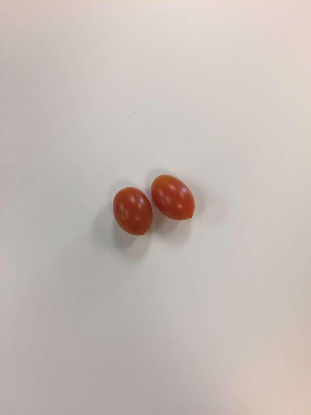 Two Grape Tomatoes