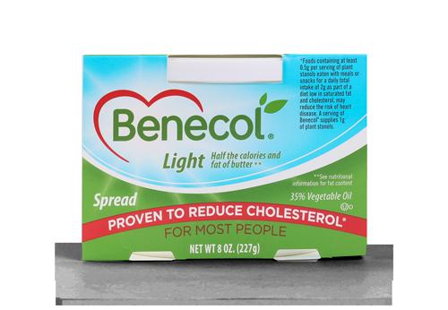 Lower cholesterol with Benecol Light