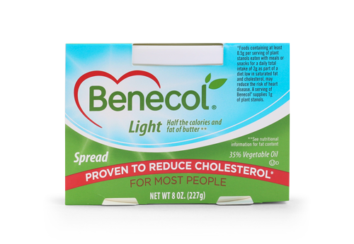 Lower cholesterol with Benecol Light
