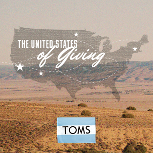 TOMS Campaign: Fall 2013