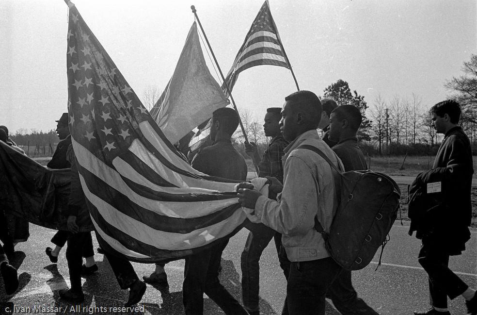 Flag bearers.