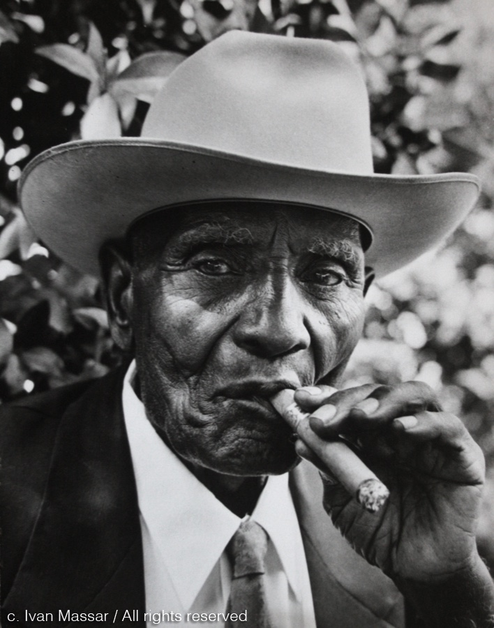 John Wade, on his 100th birthday. Houston, TX, 1958