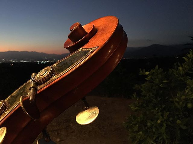 Jazz in the orange grove hills of Redlands, California tonight with some great people. Thank you @universityofredlands for having @twenty.two.thirty (Jazz) for your event!! • • • . . . . . #music #jazz #uprightbass #guitar #sax #drums #bass #redlands #california #universityofredlands #uofr #event #fundraiser #gala #hills #sunset #nofilter #photography #lemurmusic #evening #emanuelwilfer #orange #orangegrove #sky #mountains #light #liveyourlife #thankful #grateful #twentytwothirty