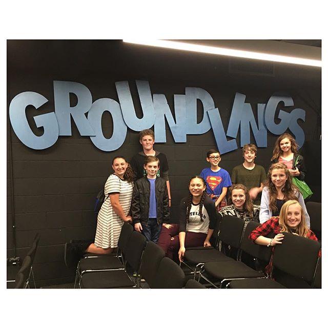 Youngsta' Groundlings 🤡 #SundaySchoolCrew #TheGroundlings